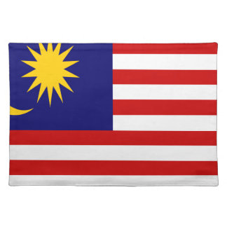 Low Cost! Malaysia Flag Placemat