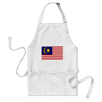 Low Cost! Malaysia Flag Standard Apron