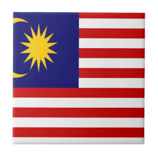 Low Cost! Malaysia Flag Tile