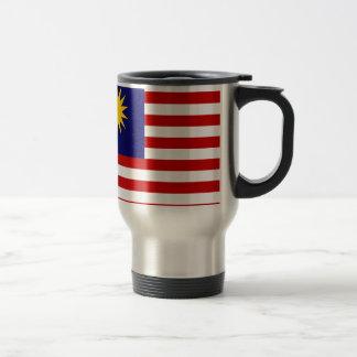 Low Cost! Malaysia Flag Travel Mug