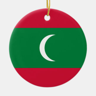 Low Cost! Maldives Flag Ceramic Ornament
