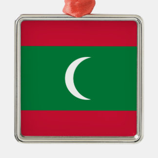 Low Cost! Maldives Flag Metal Ornament