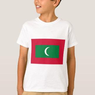 Low Cost! Maldives Flag T-Shirt