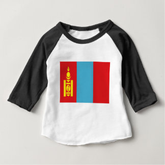 Low Cost! Mongolia Flag Baby T-Shirt