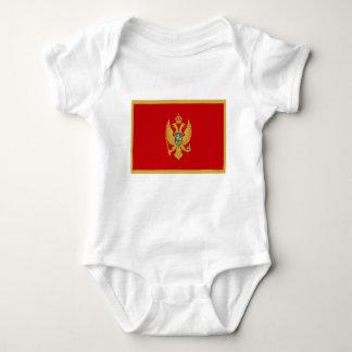 Low Cost! Montenegro Flag Baby Bodysuit