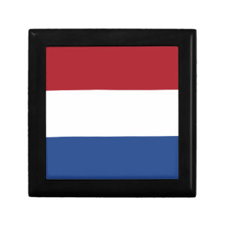 Low Cost! Netherlands Flag Small Square Gift Box