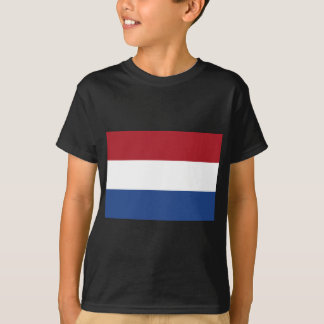 Low Cost! Netherlands Flag T-Shirt
