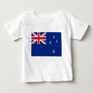 Low Cost! New Zealand Flag Baby T-Shirt