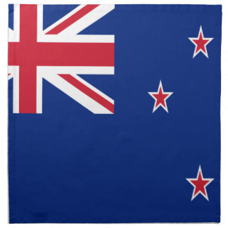 Low Cost! New Zealand Flag Napkin