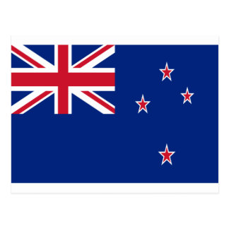 Low Cost! New Zealand Flag Postcard