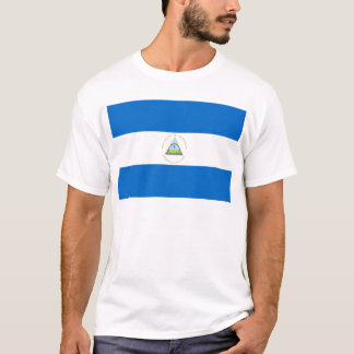 Low Cost! Nicaragua Flag T-Shirt