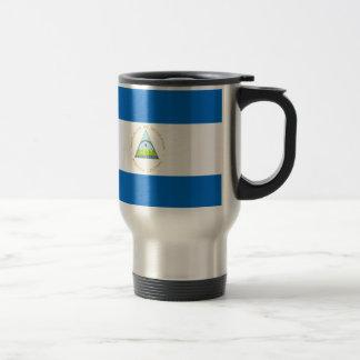 Low Cost! Nicaragua Flag Travel Mug