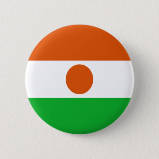 Low Cost! Niger Flag 6 Cm Round Badge