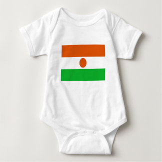 Low Cost! Niger Flag Baby Bodysuit