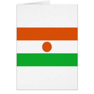 Low Cost! Niger Flag Card