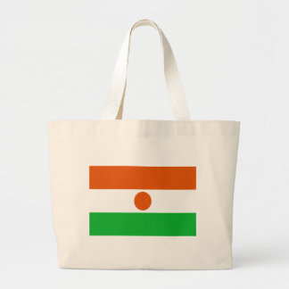 Low Cost! Niger Flag Large Tote Bag