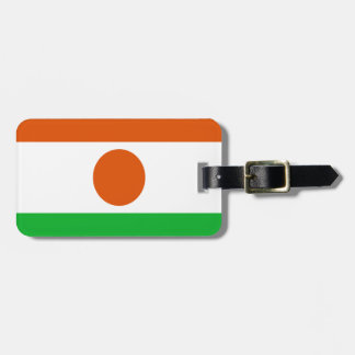 Low Cost! Niger Flag Luggage Tag