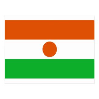 Low Cost! Niger Flag Postcard