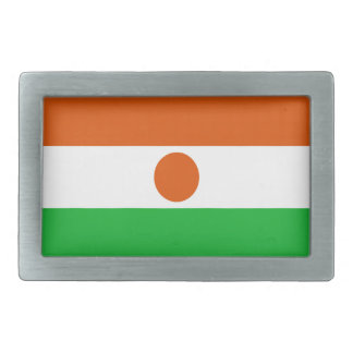 Low Cost! Niger Flag Rectangular Belt Buckles