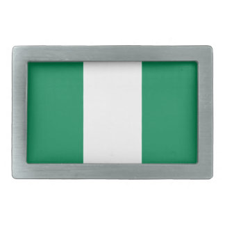 Low Cost! Nigeria Flag Belt Buckle