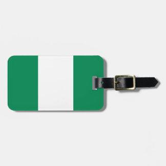 Low Cost! Nigeria Flag Luggage Tag