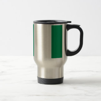 Low Cost! Nigeria Flag Travel Mug