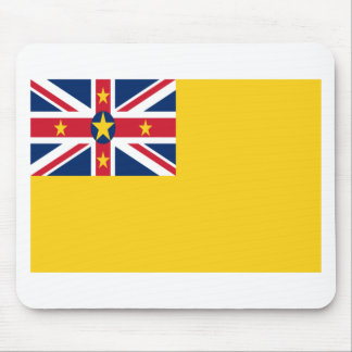 Low Cost! Niue Flag Mouse Pad