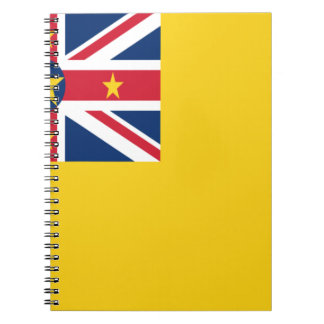 Low Cost! Niue Flag Notebook