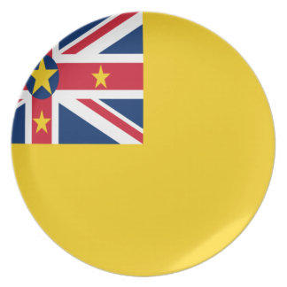Low Cost! Niue Flag Plate