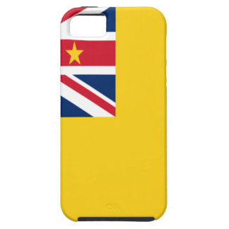 Low Cost! Niue Flag Tough iPhone 5 Case