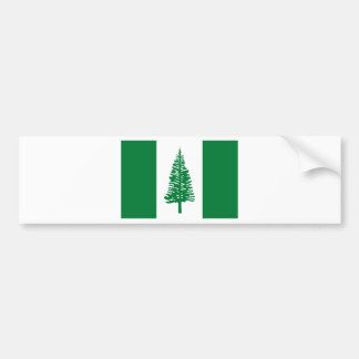 Low Cost! Norfolk Island Flag Bumper Sticker