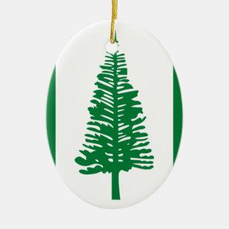 Low Cost! Norfolk Island Flag Ceramic Ornament