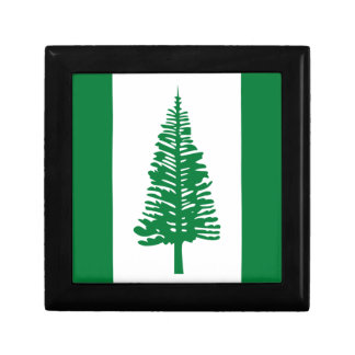 Low Cost! Norfolk Island Flag Gift Box