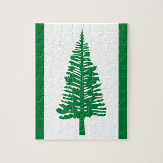 Low Cost! Norfolk Island Flag Jigsaw Puzzle