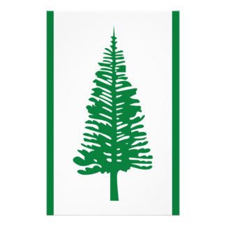 Low Cost! Norfolk Island Flag Stationery