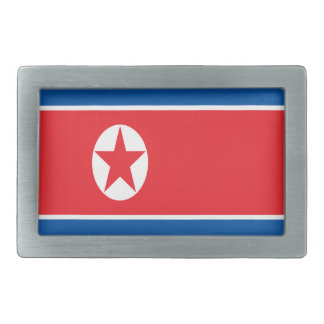 Low Cost! North Korea Flag Belt Buckle