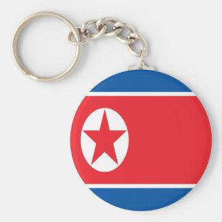 Low Cost! North Korea Flag Key Ring