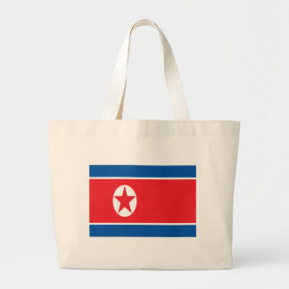 Low Cost! North Korea Flag Large Tote Bag