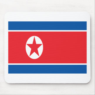 Low Cost! North Korea Flag Mouse Pad