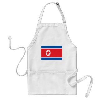 Low Cost! North Korea Flag Standard Apron
