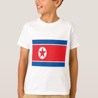 Low Cost! North Korea Flag T-Shirt