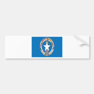 Low Cost! Northern Mariana Islands Flag Bumper Sticker
