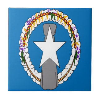 Low Cost! Northern Mariana Islands Flag Ceramic Tile
