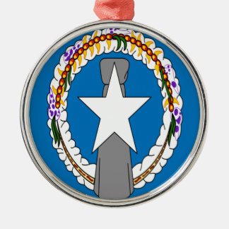 Low Cost! Northern Mariana Islands Flag Metal Ornament