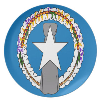 Low Cost! Northern Mariana Islands Flag Plate