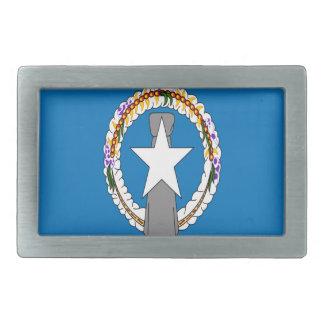 Low Cost! Northern Mariana Islands Flag Rectangular Belt Buckle
