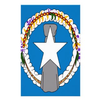 Low Cost! Northern Mariana Islands Flag Stationery