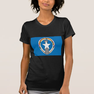 Low Cost! Northern Mariana Islands Flag T-Shirt