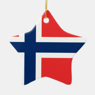 Low Cost! Norway Flag Ceramic Ornament