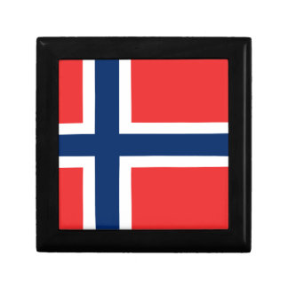 Low Cost! Norway Flag Gift Box